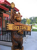 "We headed to ""Famous Daves"" BBQ for dinner...we figured Mom Twogood would like the bear at the entrance."