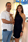"Madame Paulette's, <a href=""http://www.madamepaulette.com/"">John Mahdessian</a> & fashion designer, Nicole Romano"
