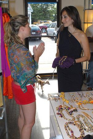 Andrea Victor makes a special request for designer Nicole Romano