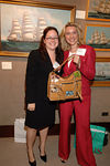 Kelley Cunningham & Bettina Alonso show off Tous bag that was raffled off