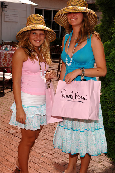 Pamela Ferrari Hosts Mother Daughter Tea at East Hampton Store
