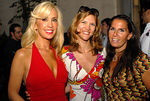 "Tracy Stern, Cathy Riva & Vicki Miller at <a href=""http://www.lolivier.com/default.aspx"">L'OLIVIER, NYC</a> TRACY STERN ""Dinner Takes All"" Garden Party with Swank Productions and SalonTEA"