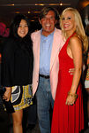 "Susan Shin, Dr. Geoffrey Scott Carroll and Tracy Stern at <a href=""http://www.lolivier.com/default.aspx"">L'OLIVIER, NYC</a> TRACY STERN ""Dinner Takes All"" Garden Party with Swank Productions and SalonTEA"