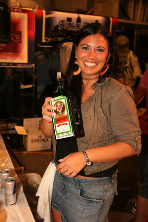 Would you take a shot of Yagermeister from her? yeah, I thought so