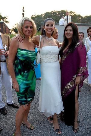 "Debbie Bancroft, <a href=""http://newyorkmetro.com/nymetro/news/people/features/6017/"">Dayssi Olarte de Kanavos</a> & Susan Shin"