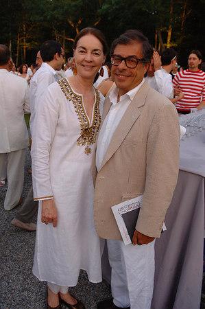 Virginia Coleman and Bob Colacello