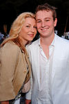 Tatum O'Neal and her son Kevin McEnroe