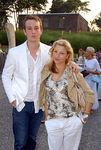 Kevin McEnroe and mom Tatum O'Neal