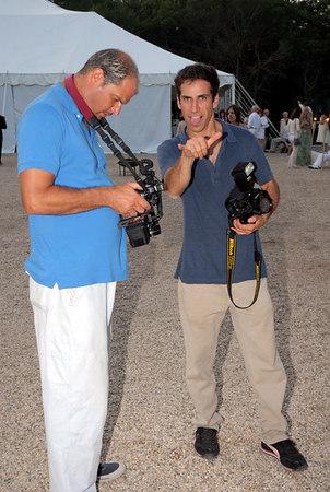 Photographers Steve Eichner and Joe Schildhorn