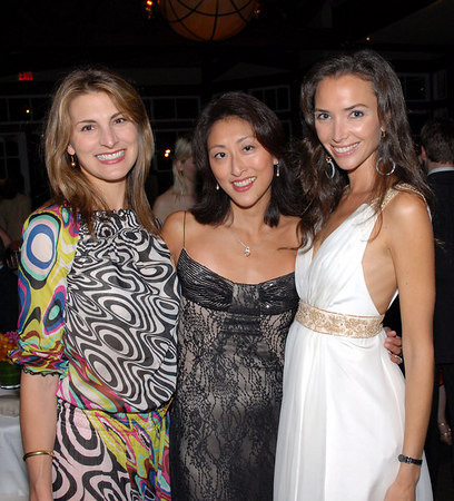 """Blair Clarke, Adelina Wong Ettelson, Olivia Chantecaille at Young Friends of """"SAVE VENICE"""" Summer Revelry To Celebrate La Festa Del Redentore"""