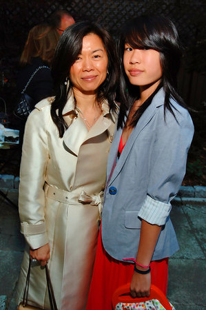 "Christie Chu and Gina Chu at the KOO Gallery for the ASIA ON MY MIND: ""50 for the 50th""--Worldwide Benefit Dinner Series NEW YORK-JUNE 10: ASIA ON MY MIND: VIP Guests attend""50 for the 50th""--Worldwide Benefit Dinner Series at The Koo Gallery, 126 East 64th Street, New York, NY on Saturday, June 10, 2006 (Photo Credit: Gregory Partanio/ManhattanSociety.com)"