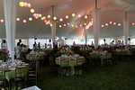 "Inside the tent on the grounds of <a href=""http://www.wolffer.com/store/"">The Wolffer Estate Vineyard</a>"