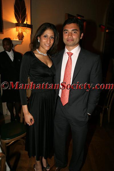 Raj Alva and friend