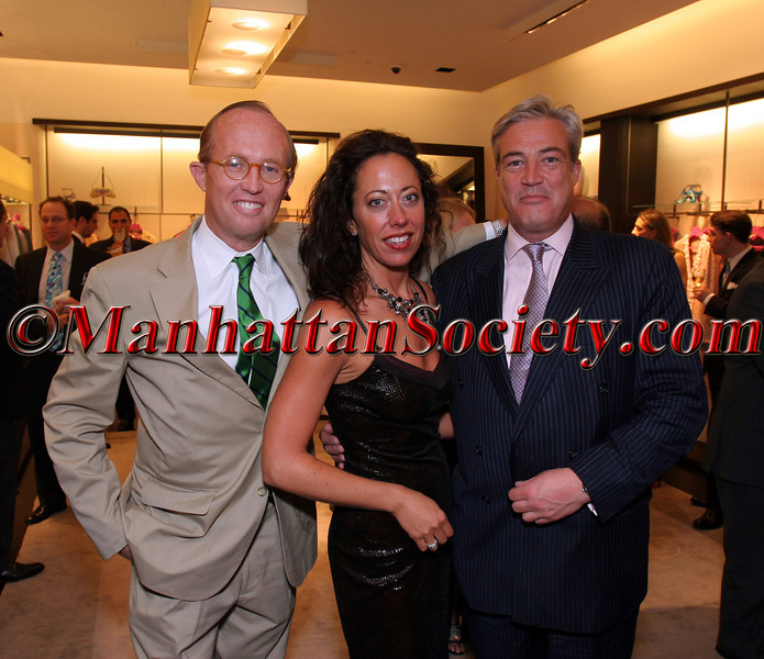 Mark Gilbertson, Tatiana Platt and Philip Warner
