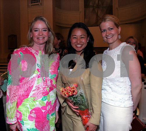 Marion Hedges, Soo Won Hwang & Kristen McGinnis