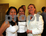 Soo Won Hwang, Trisha G. Duval (Incoming Junior League President, term begins July 1, 2006) and Mary Beth Tully (former Junior League President)