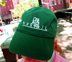 "The ""colorful"" Marion Hedges NYJL hat."