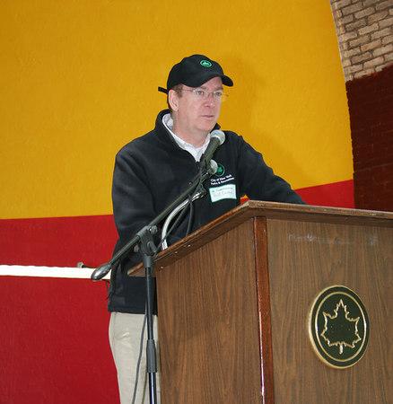 NYC Department of Parks Borough Commissioner, William T. Castro