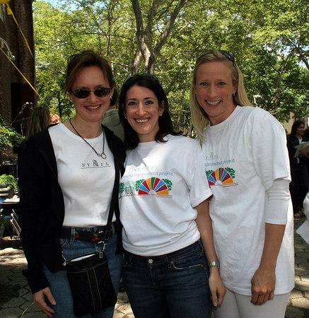Trisha Duval, Amy McCready and Kristina Kloberdanz