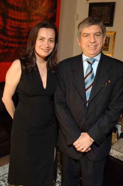Monica Lorduy, Preseident Cesar Gaviria