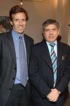 Michael Northrup & President Cesar Gaviria