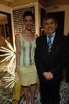 Kathleen Giordano & President Cesar Gaviria