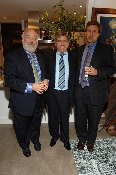 Nelson Fraiman, President Cesar Gaviria, Michael Northrup