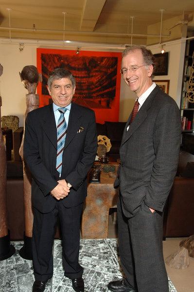 President Cesar Gaviria & Andrew Sharpless