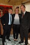 President Cesar Gaviria, Bettina Alonso, Andrew Sharpless