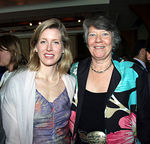 Karenna Gore Schiff & Hilary Maddux (Deputy Director, Sanctuary for Families).