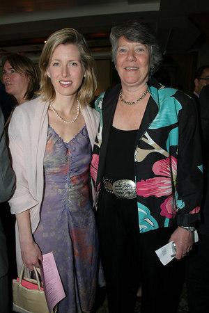 Board member Karenna Gore Schiff & Deputy Director Hilary Maddux