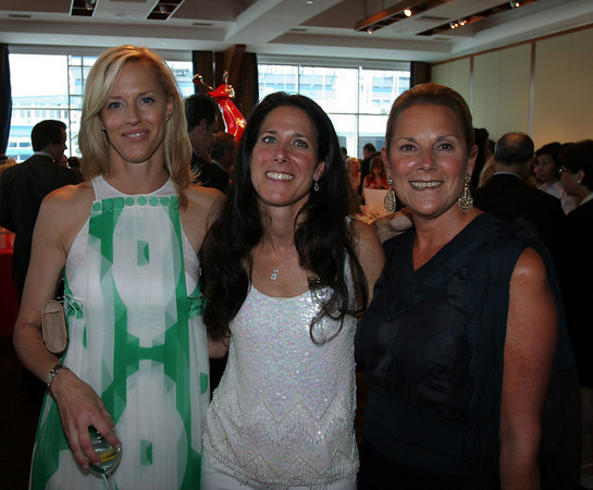 Board members Courtney Wilson Monahan and Jodie Freeman and Sheryl Schwartz.