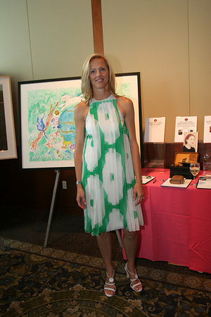 Board member & event co-chair Courtney Wilson Monahan