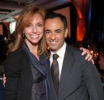 Susan Sokol (President of Vera Wang) & Francisco Costa (Creative Director, Calvin Klein)