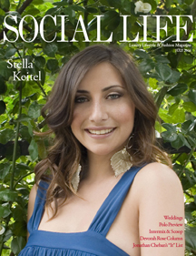 Social Life Magazine's July Issue Featuring Cover Model, Stella Keitel