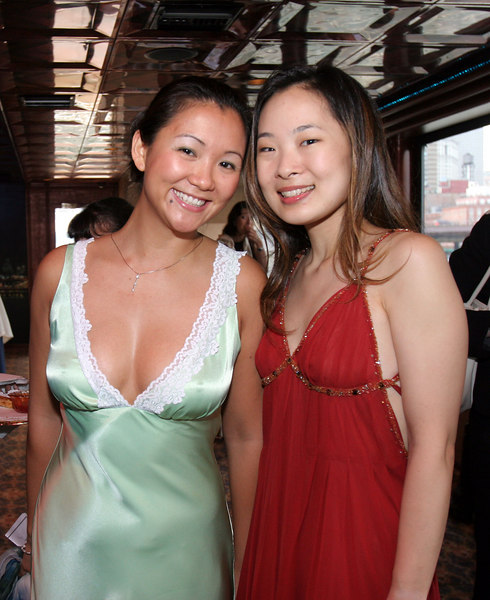 Jin Jin Huang & Eugenia Choi at The Nature Conservancy's Young Professionals Group 2006 Summer Benefit