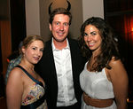 "Laura Lachman, Chad Ritchie (looking a little ""horny"") & Elizabeth Gutowski"