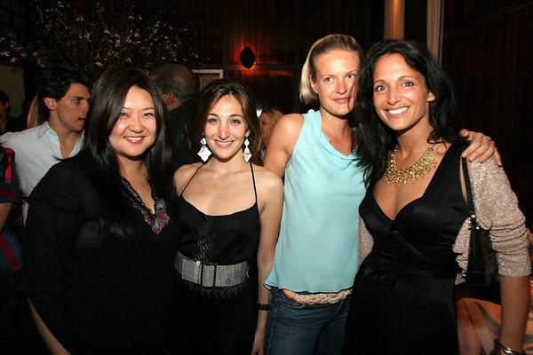 Susan Shin, Nicole Romano, Emma ? & Emma Snowdon-Jones