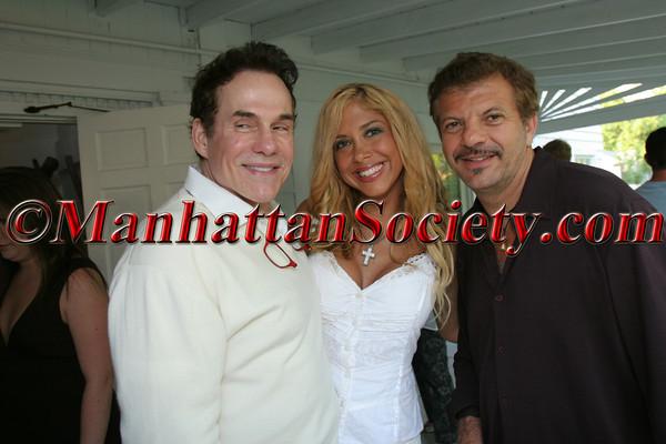 R Couri Hay, Samantha Cole and Rocco Anercola