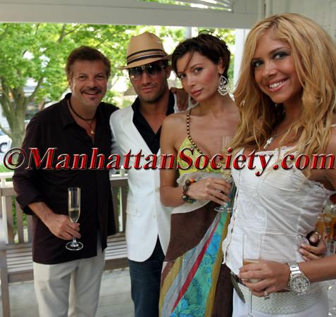 (L-R)?,  Sean Olnowich, Valeria Kissel & Samantha Cole (front)