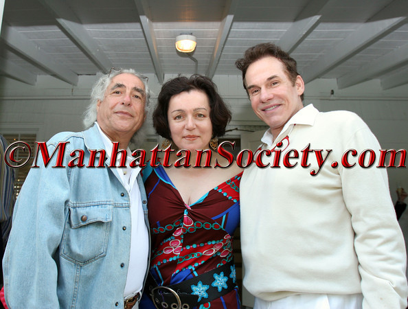 "Gideon Lewin, Designer, <a href=""http://www.joannamastroianni.com/"">Joanna Mastroianni</a> and beau with R Couri Hay"