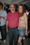 Mr. Berkelhammer with daughter, Melissa Berkelhammer