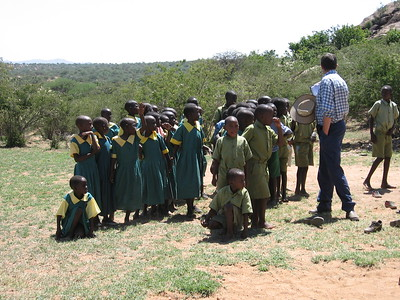 School children at Mpala - Kimberly Collins