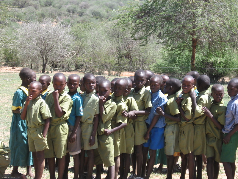 Children at Mpala - Kimberly Collins