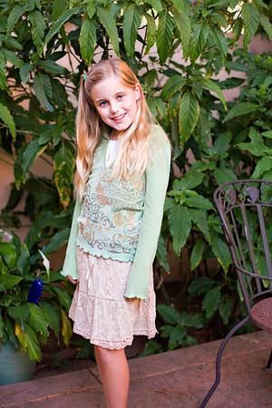 Elena's 10th Birthday - and school photo day.