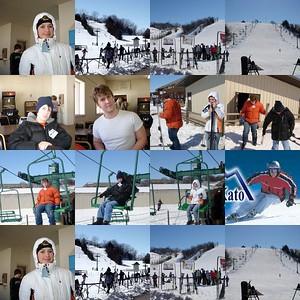 Kids Skiiing at Mt. Kato - Mankato, MN