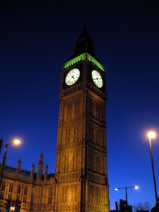 "The Clock Tower, home of the Great Bell (a.k.a. ""Big Ben"")"
