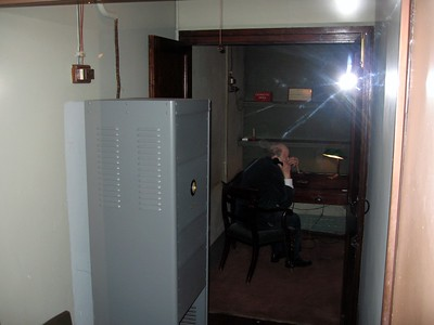Churchill inside the secret Transatlantic Telephone Room
