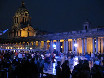 Greenwich Ice Rink at the Old Royal Naval College