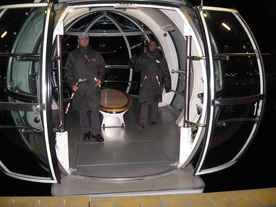 Passenger capsule of The London Eye